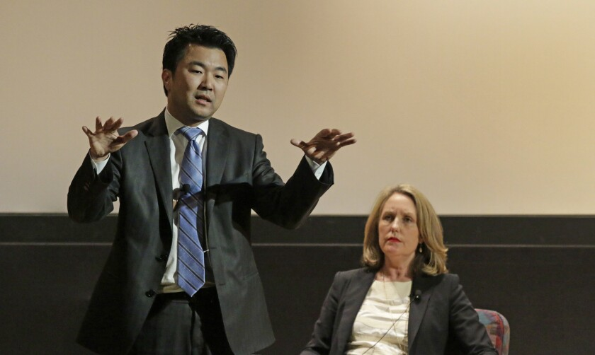 David Ryu and Carolyn Ramsay