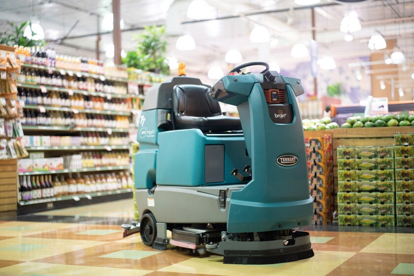 Brain Corp.'s software, along with sensor and camera systems, power self-driving robotic floor scrubbers used by Walmart and other large stores. The company's Robot Relief program will offer no-cost autonomous clearing robots to essential businesses during the coronavirus lockdown.