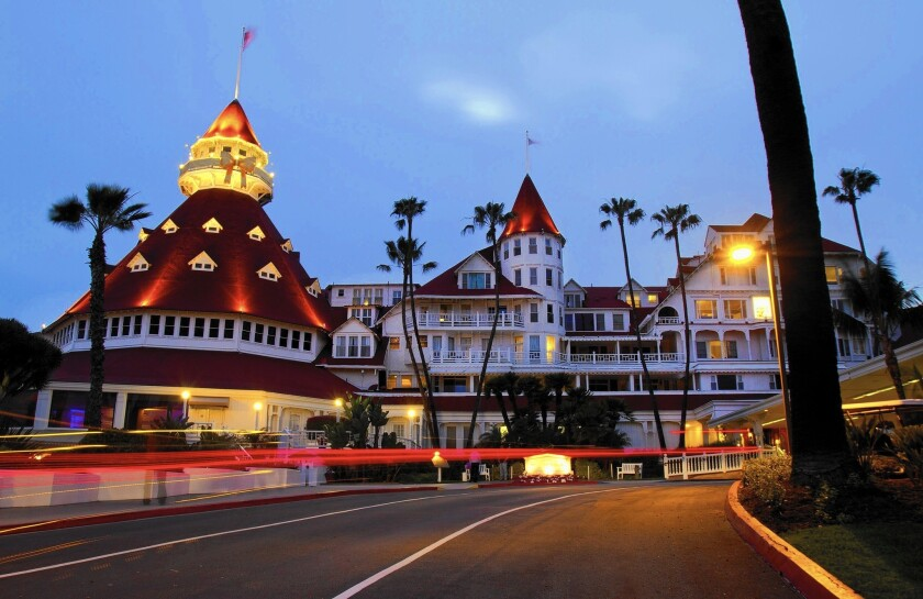 Anbang Insurance Group's buying spree in the U.S. includes this year's deal to purchase Strategic Hotels & Resorts, which owns posh properties including the Hotel del Coronado, above, near San Diego.