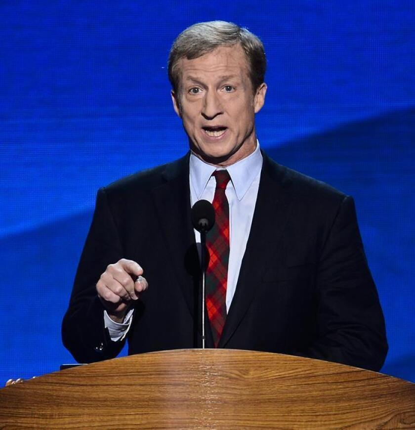 El empresario californiano Tom Steyer. EFE/Archivo