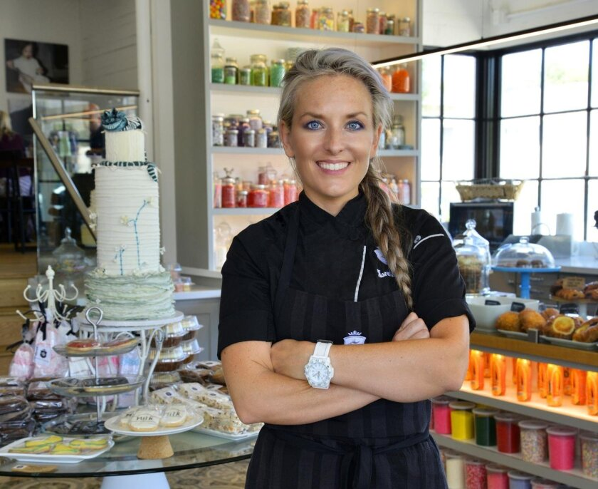 Maeve Rochford, owner/baker at Sugar and Scribe bakery