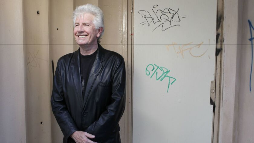 """""""I have no profound answers to the world's problems,"""" says Graham Nash, """"but I certainly have questions."""" Mandatory Photo Credit: Photo by Earnie Grafton/San Diego Union-Tribune/Copyright 2010 San Diego Union-Tribune"""