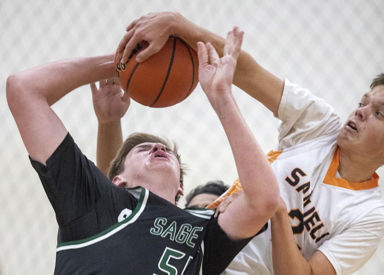Photo Gallery: Sage Hill vs. Samueli Academy in boys' basketball
