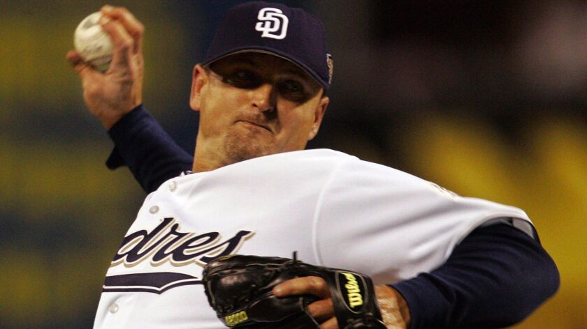 Trevor Hoffman is among 35 candidates for the Baseball Hall of Fame, but it doesn't appear he will get the required 75 percent of votes. (Gene J. Puskar AP)