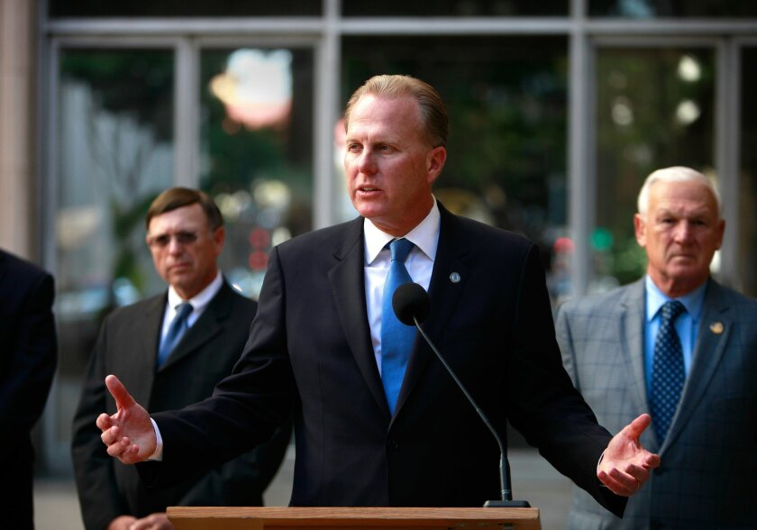 San Diego Mayor Kevin L. Faulconer.