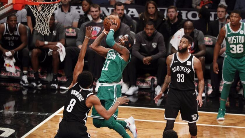 Boston Celtics at Brooklyn Nets, USA - 14 Nov 2017
