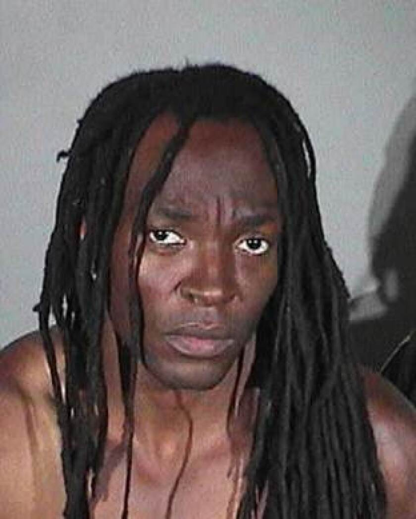 Kelechi Amadi is a registered sex offender accused of trying to rape a woman in Santa Monica.