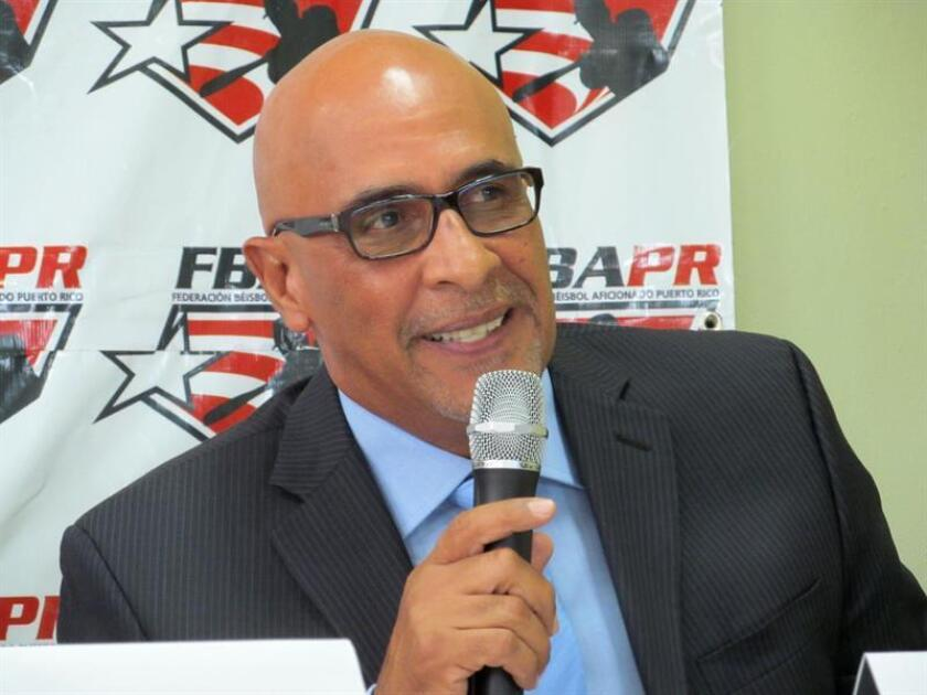 El presidente de la Federación de Béisbol de Puerto Rico, José Quiles. EFE/Archivo