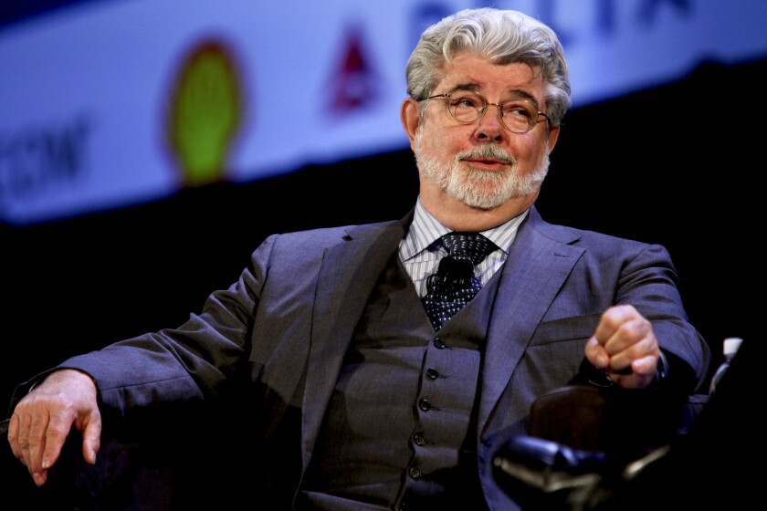 George Lucas, shown in 2009, has selected an architectural team to work on his planned museum to be built in Chicago.
