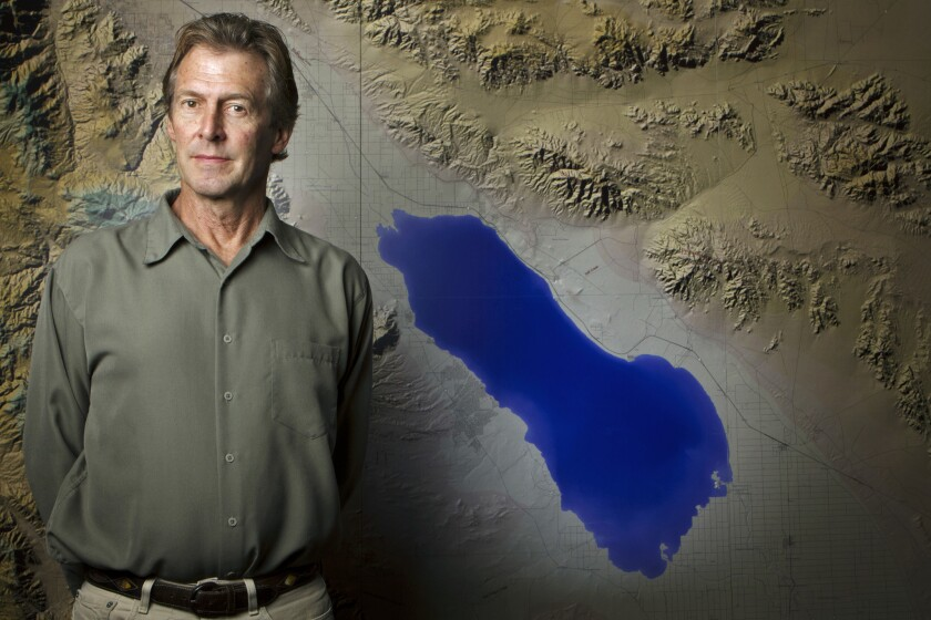 Tim Krantz is University of Redlands environmental studies professor and the data manager for the Salton Sea, the largest lake in California.