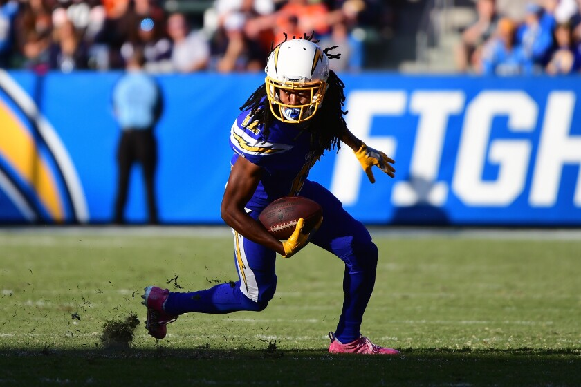 Former Chargers Receiver Travis Benjamin To Sign With 49ers Los Angeles Times
