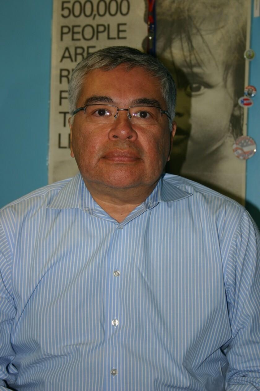 Salvador Sanabria, presidente del Instituto Salvadoreño del Migrante.