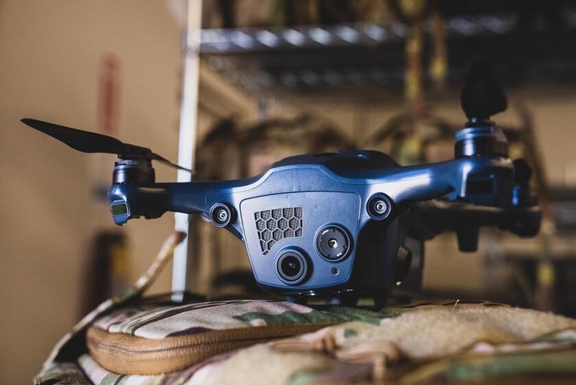 One of Shield AI's Nova-class small drones.
