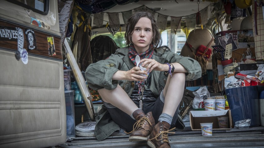 "Ellen Page in the movie ""Tallulah."""
