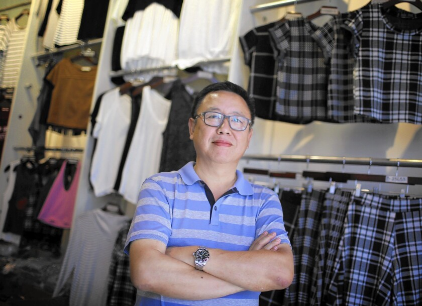 Korean apparel firms eye Texas move