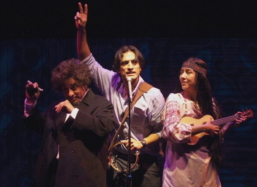 'American Night: The Ballad Of Juan José,' by Richard Montoya for Culture Clash, developed by Culture Clash and Jo Bonney and directed by Jo Bonney opens in the Playhouse's Sheila and Hughes Potiker Theatre Jan. 27.