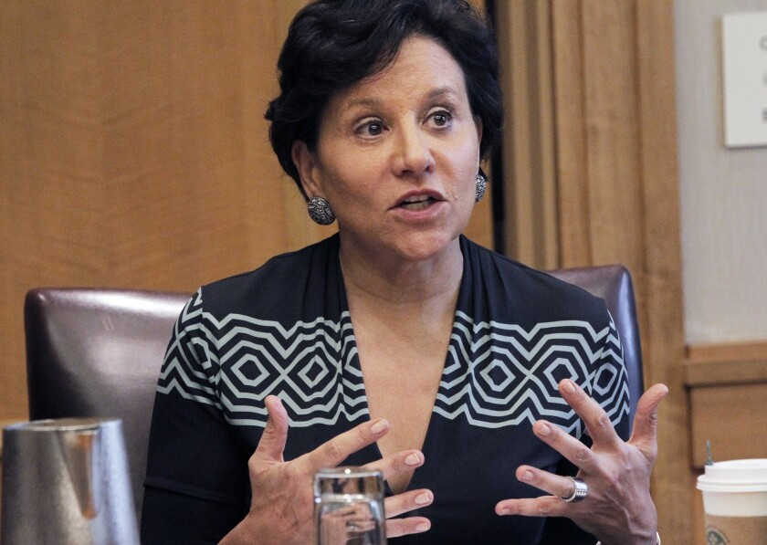 "U.S. Secretary of Commerce Penny Pritzker told the Los Angeles Times that immigration reform is a ""moral, as well as an economic issue"" and one that holds ""economic opportunity"" for the country."