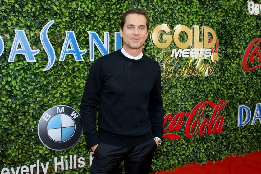 Gold Meets Golden guests included Matt Bomer.