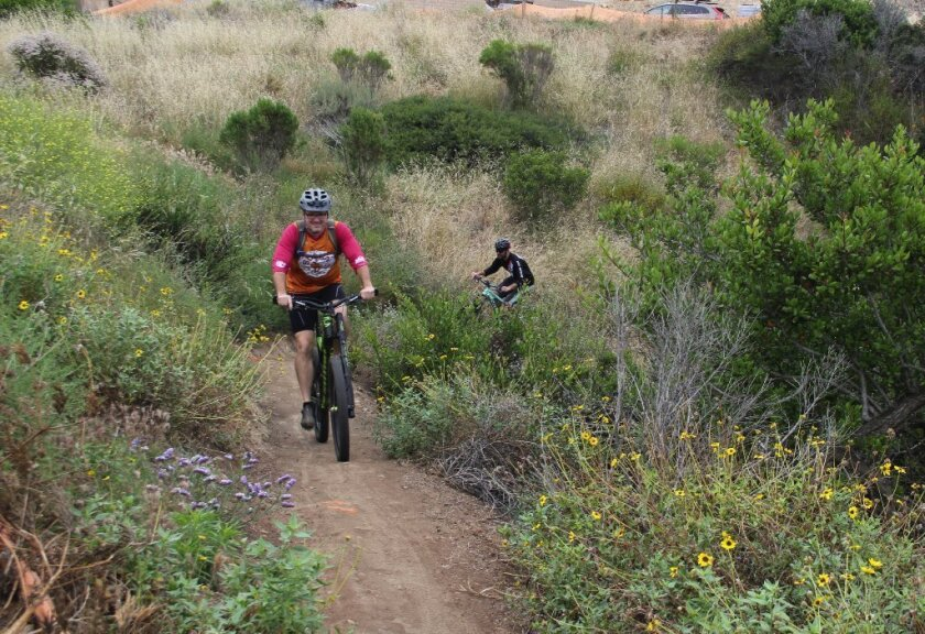 A new Del Mar Mesa trail was the result of a collaboration between SDMBA and Pardee Homes.