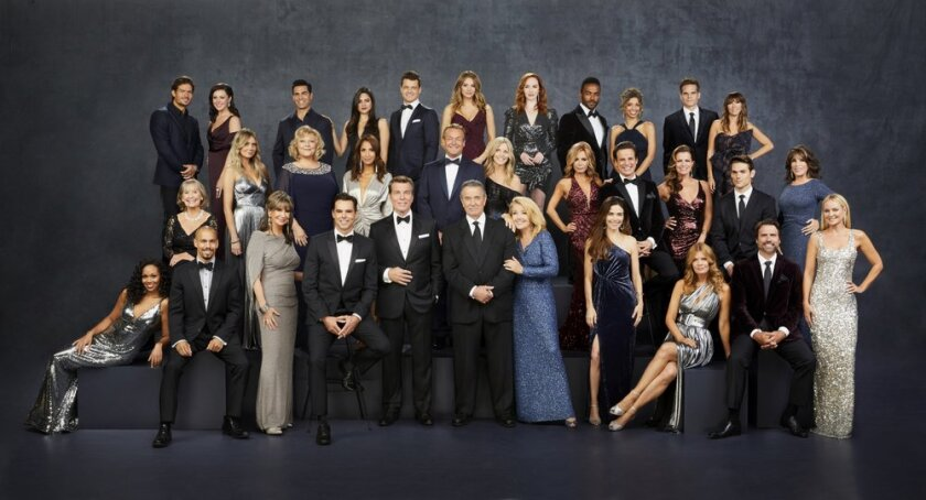 """The cast of  """"The Young and the Restless."""""""