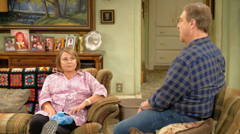 """ABC is looking to give """"The Conners,"""" an upcoming spinoff, a fresh start without Roseanne Barr."""