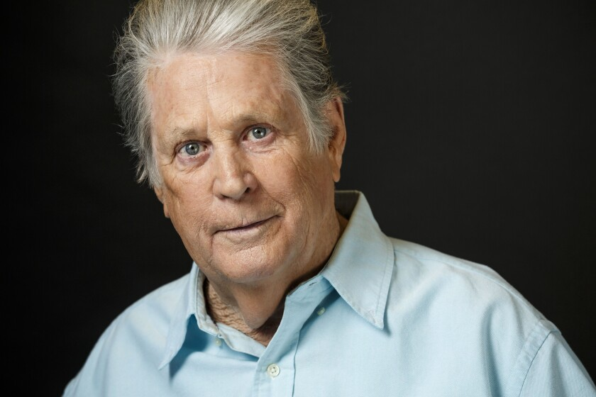 Musician Brian Wilson photographed at Capitol Records, March 12, 2015.