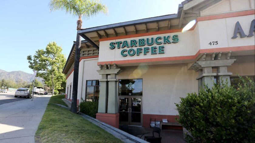 Starbucks Coffee, at 475 Foothill Blvd., La Canada Flintridge, on Friday, May 17, 2018.