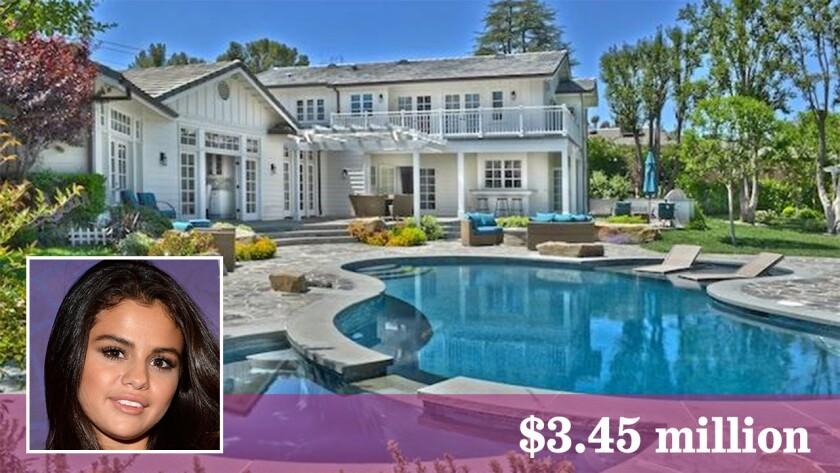 Selena Gomez has sold her house in Tarzana for $3.45 million.