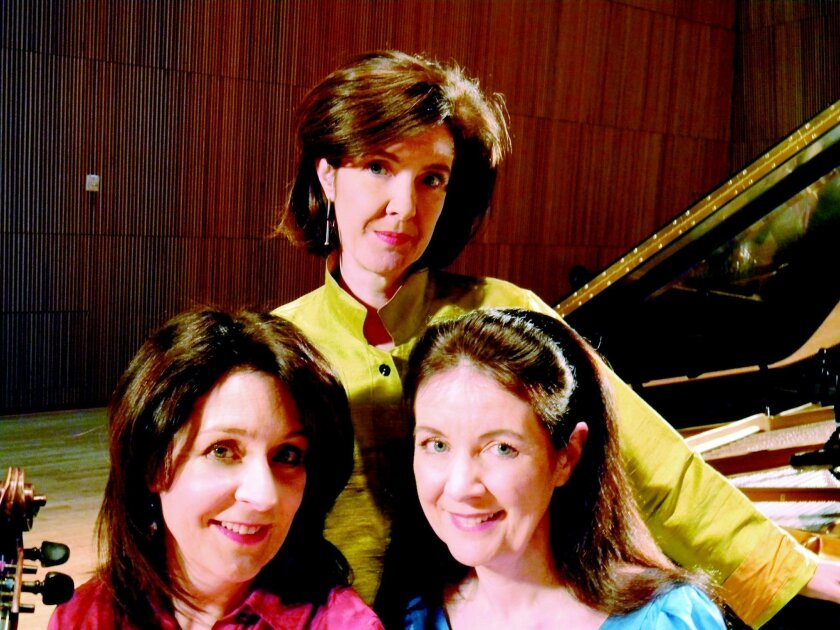 The McDermott sisters, from left: Maureen, Anne-Marie and Kerry.