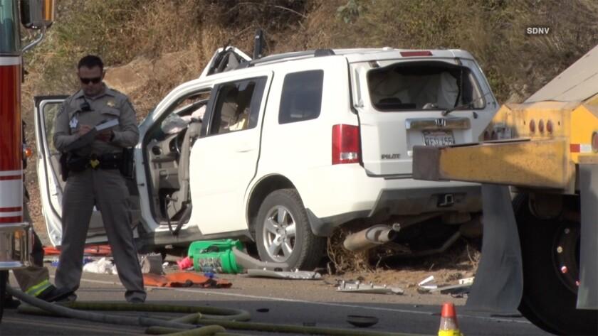 Boy, 13, killed in North County crash