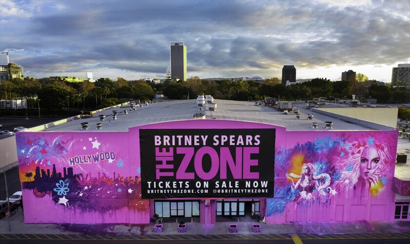 Britney Spears: The Zone