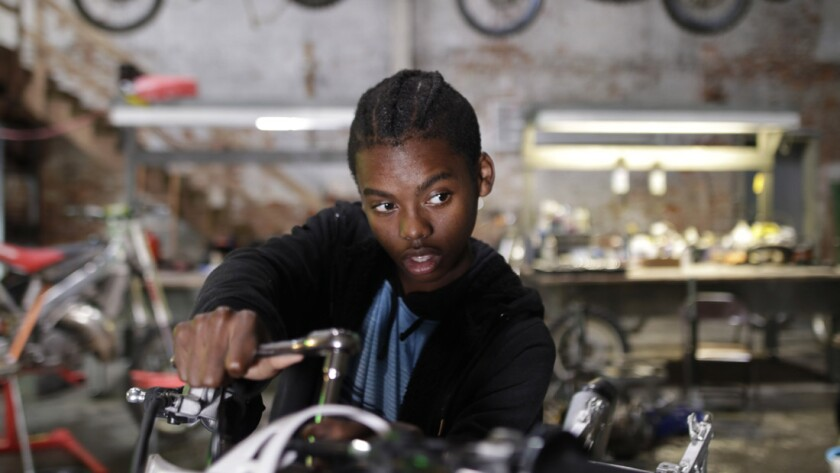 "Jahi Di'Allo Winston in the movie ""Charm City Kings."""