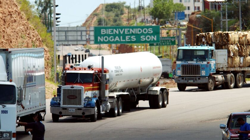 Truckers stay home; US Senate Backs Tougher Regulations for Mexico Trucks