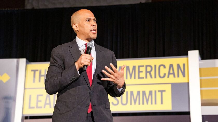 Democratic Presidential Candidates Attend African American Leadership Council Summit