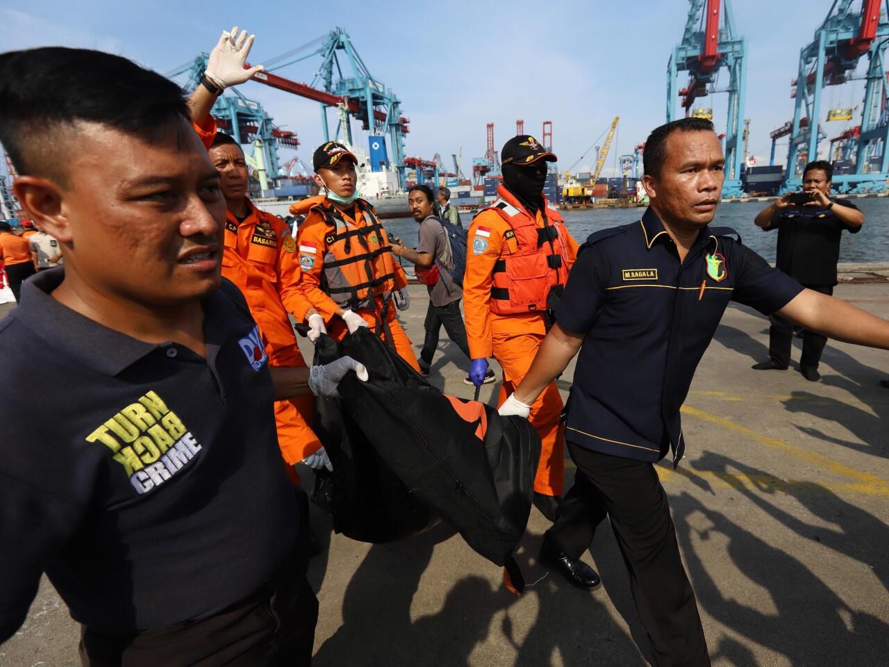 Indonesian jet crashes into Java Sea