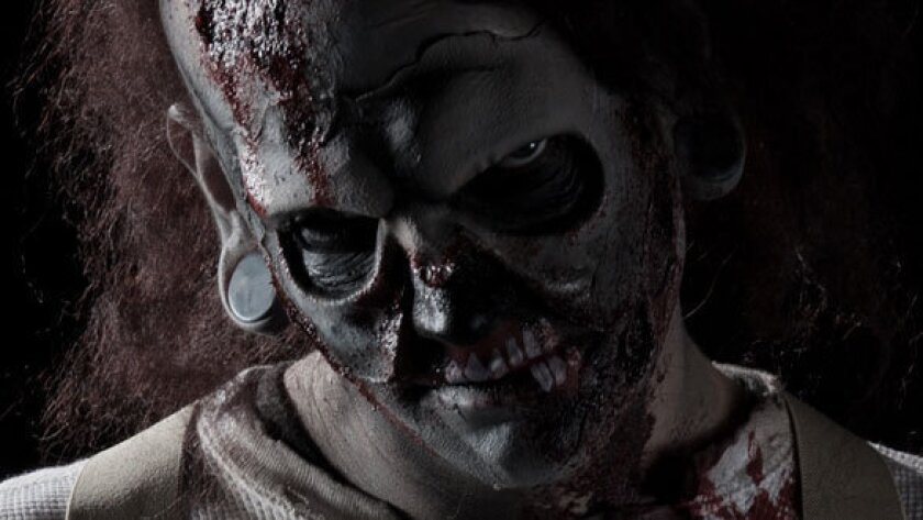 Half Hatch Henry will roam a Dark Harbor haunted maze at the Queen Mary in Long Beach.