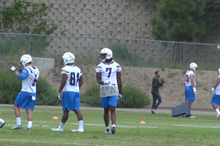 Chargers hold first day of rookie minicamp