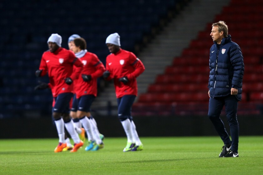 U.S. to play South Korea in World Cup tune-up in Carson