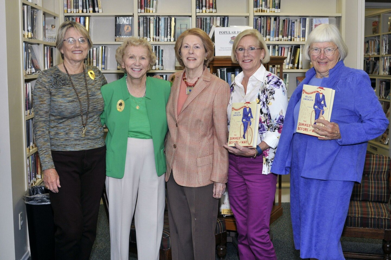Carol Coburn, Dolores Crawford, Peppy Bahr, Donna Vance, Joan Voelz