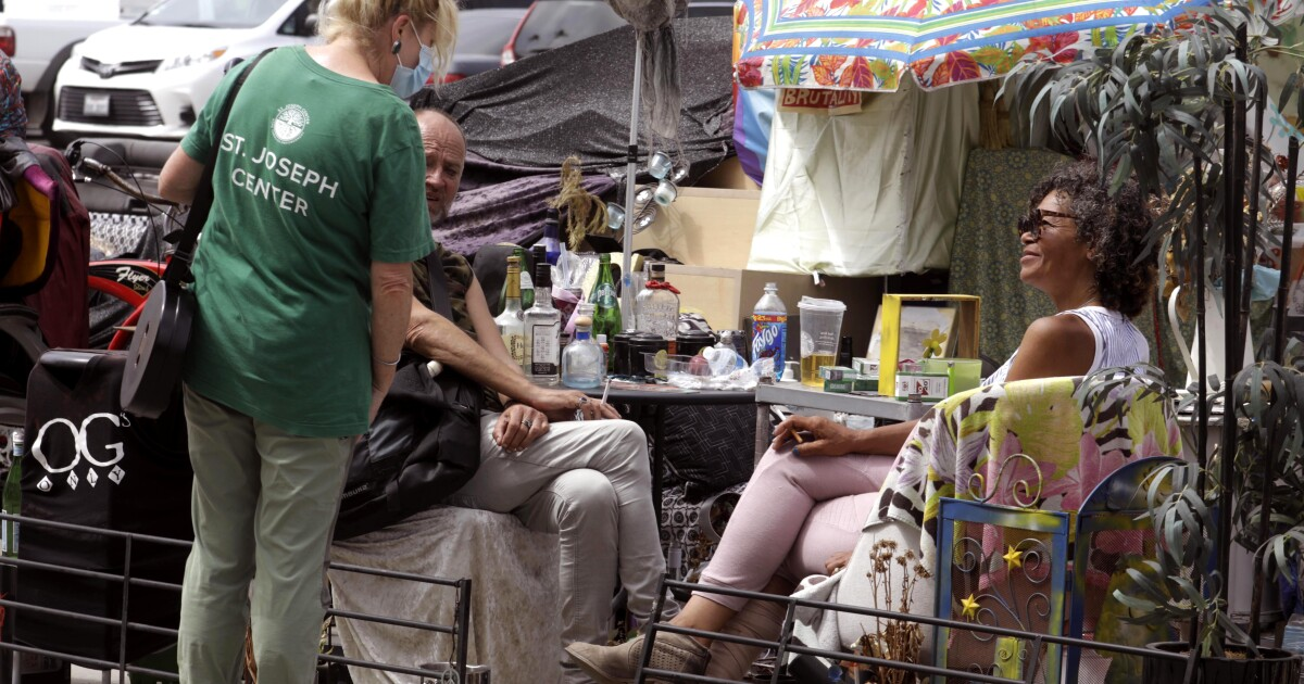 Over the course of six weeks, service providers aided by local officials moved 211 homeless people who had camped along the Venice boardwalk for more