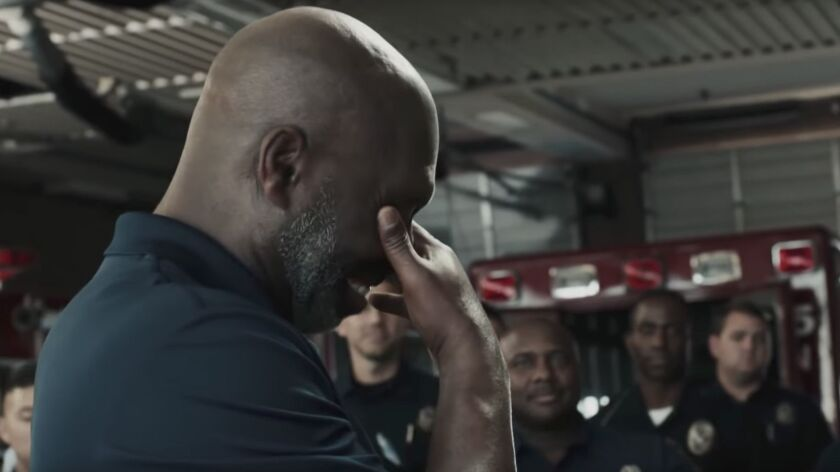 Los Angeles Chargers Head Coach Anthony Lynn appeared in a commercial campaign from Verizon called,