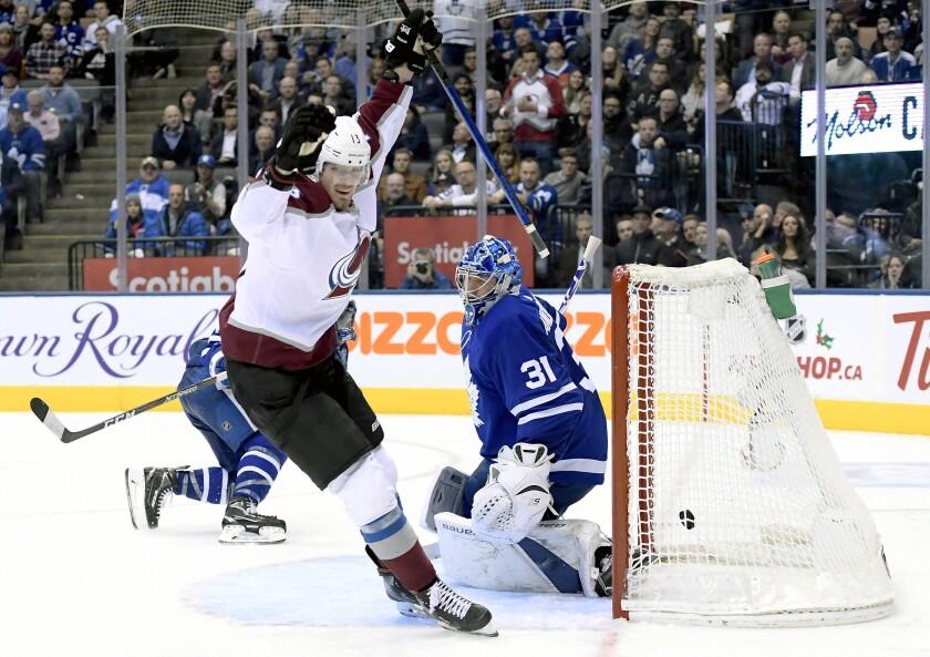 Avalanche Maple Leafs Hockey