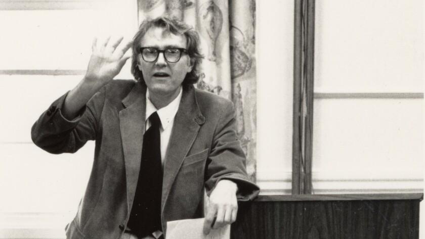Poet Bill Knott