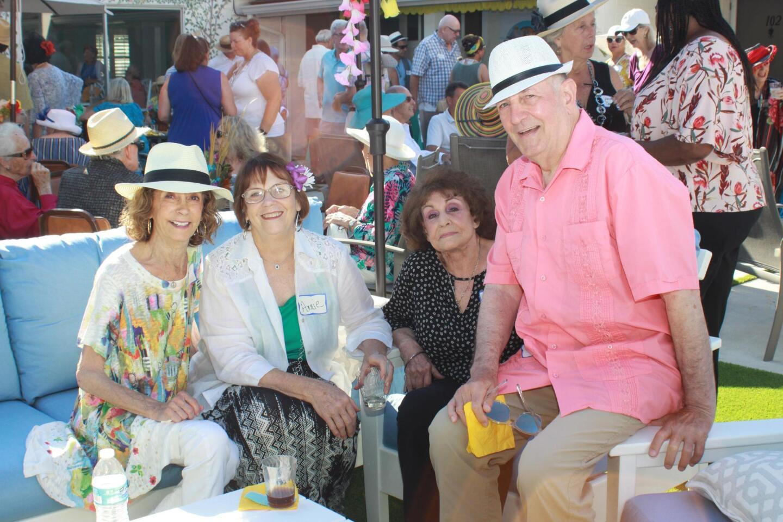 Sheila Brown, Annie Jones, Barbara Diamond and Daniel Sewell