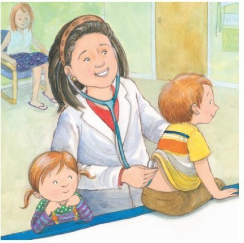 "Dr. Chrystal de Freitas is ""Dr. Dee"" in the book."