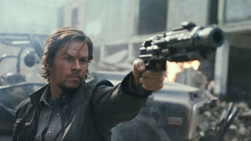 """Mark Wahlberg in """"Transformers: The Last Knight."""""""