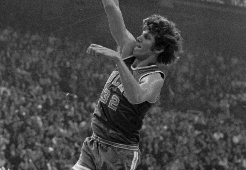 Bill Walton's 24 points led UCLA to an 81-76 victory over Florida State in the 1972 NCAA title game.