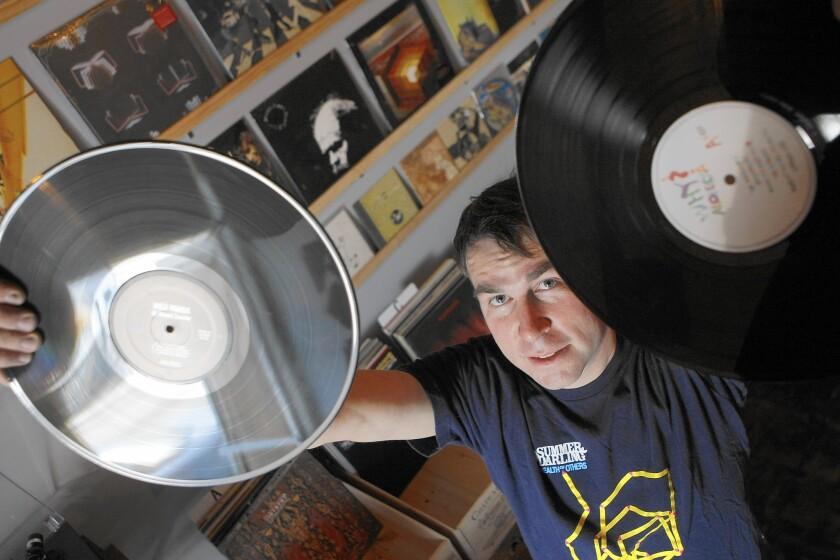 Origami Vinyl owner Neil Schield in 2009.