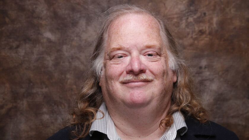 PARK CITY, CA --JANUARY 26, 2015--Jonathan Gold from the movie CITY OF GOLD at the L.A. Times photo