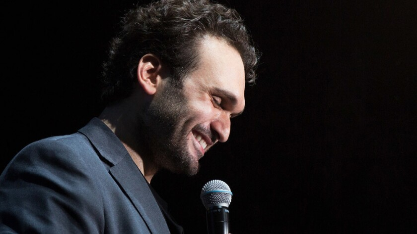 Comedian Nemr Abou Nassar, who grew up in Del Mar, is one of the hottest comics in the Middle East. He's coming back to San Diego for a show at the Balboa Theatre.